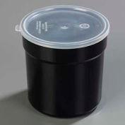 Carlisle 037203 - Supreme™ Crock W/Lid 2.7 Qt., Black - Pkg Qty 6