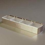 Carlisle 38704CNS - Condiment Caddies W/4 Lids, 4 Qt., 1 Ea, Stainless Steel