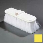 "Flo-Pac® Flo-Thru Nylex Brush With Flagged Nylex Bristles 9-1/2"" - Yellow - Pkg Qty 12"