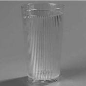 Carlisle 401613 - Crystalon® Stack-All® SAN Tumbler 16 Oz., Amber, Ribbed Texture - Pkg Qty 48