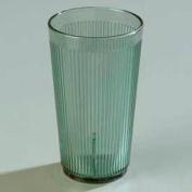 Carlisle 401664 - Crystalon® Stack-All® SAN Tumbler 16 Oz., Jade, Ribbed Texture - Pkg Qty 48