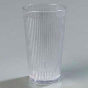Carlisle 402007 - Crystalon® Stack-All® SAN Tumbler 20 Oz., Clear, Ribbed Texture - Pkg Qty 48