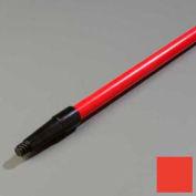 "Sparta® Spectrum® Fiberglass Tapered/Threaded Handle 60"" Long/1"" D - Red - Pkg Qty 12"