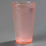 Carlisle 403352 - Crystalon® Polycarbonate Tumbler RimGlow, 12 Oz., Glo-Sunset Orange - Pkg Qty 48