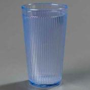 Carlisle 403414 - Crystalon® Polycarbonate Tumbler RimGlow, 16 Oz., Ocean Blue - Pkg Qty 48