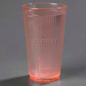 Carlisle 403452 - Crystalon® Tumbler RW20-1, 16 Oz., Glo-Sunset Orange