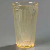 Carlisle 403522 - Crystalon® Polycarbonate Tumbler RimGlow, 20 Oz., Glo-Honey Yellow - Pkg Qty 48