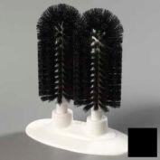 "Carlisle 4046003 - Sparta® Twin Glass Washer 8"", Black - Pkg Qty 6"