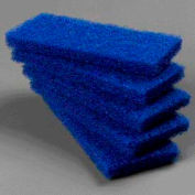 "Medium Scrub Pad 10"" X 4-5/8""X 1"" - 4072500 - Pkg Qty 8"