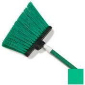 "Sparta® Spectrum® Duo-Sweep® Polyethylene Angle Broom 56"" Long - Green - Pkg Qty 12"