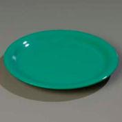 "Carlisle 4300409 - Durus® Narrow Rim Dinner Plate 9-1/16"" x 29/32"", Green - Pkg Qty 24"