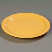 "Carlisle 4300422 - Durus® Narrow Rim Dinner Plate 9-1/16"" x 29/32"", Honey Yellow - Pkg Qty 24"