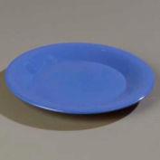 "Carlisle 4301814 - Durus® Wide Rim Pie Plate, 6-1/2"" Diameter, Ocean Blue - Pkg Qty 48"