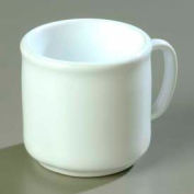 "Carlisle 4305202 - Stackable™ SAN Mug 10 Oz., 3-13/32"", White - Pkg Qty 12"