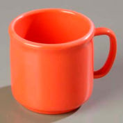 "Carlisle 4305252 - Stackable™ SAN Mug 10 Oz., 3-13/32"", Sunset Orange - Pkg Qty 12"