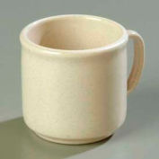 "Carlisle 4305271 - Stackable™ SAN Mug 10 Oz., 3-13/32"", Sand - Pkg Qty 12"