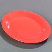 "Carlisle 4308252 - Durus® Oval Platter 11-15/16"", 9"", 1"", Sunset Orange - Pkg Qty 12"