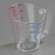 Carlisle 4314207 - Polycarbonate Measure Cup, 1 Pint, Clear - Pkg Qty 6