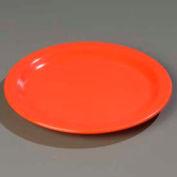 "Carlisle 4350152 - Dallas Ware® Dinner Plate 9"", Sunset Orange - Pkg Qty 48"