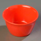 Carlisle 4354052 - Dallas Ware® Bouillon Cup 8 Oz., Sunset Orange - Pkg Qty 24