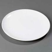 """Carlisle 4380002 - Epicure® Buffet/Pizza Plate 11-31/32"""", 11-31/32"""", 1"""", White - Pkg Qty 12"""