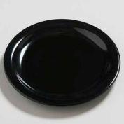 """Carlisle 4385403 - Daytona™ Salad Plate 7-1/4"""", Black - Pkg Qty 48"""