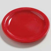 "Carlisle 4385405 - Daytona™ Salad Plate 7-1/4"", Red - Pkg Qty 48"