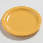 "Carlisle 4385622 - Daytona™ Bread & Butter Plate 5-5/8"", Honey Yellow - Pkg Qty 48"