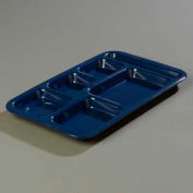 Carlisle 4398250 - Right-Hand Space Saver Compartment Tray, Dark Blue - Pkg Qty 12