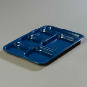 Carlisle 4398850 - Right-Hand Heavy Weight Compartment Tray, Dark Blue - Pkg Qty 12