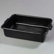 """Carlisle 44010SKD03 - Comfort Curve™ Bus Box Skid, 15""""W x 20""""D x 5""""H, Black - Pkg Qty 300"""