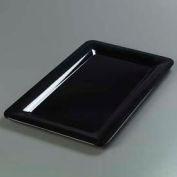 "Carlisle 4442003 - Designer Displayware™ Full Size Food Pan 1"", Black - Pkg Qty 6"
