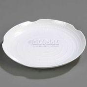 "Carlisle 4451802 - Terra™ Round Textured Platter, 18"", White"