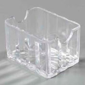 Carlisle 454907 - Crystalite® Sugar Caddy, Holds 20 Packets, Clear - Pkg Qty 24
