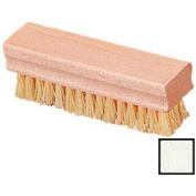 """Hand And Nail Brush With Polypropylene Bristles 1-1/2 X 5"""" - Off White - Pkg Qty 72"""