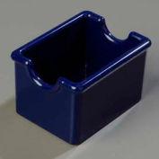 Carlisle 455060 - Sugar Caddy, Holds 20 Packets, Cobalt Blue - Pkg Qty 24