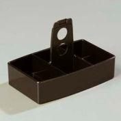 Carlisle 455103 - Merchandiser Sugar Caddy, Holds 50 Packets, Black - Pkg Qty 24