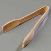 """Carlisle 460606 - Carly® Salad Tongs, Plastic, Beige, 6-7/32"""" Long - Pkg Qty 12"""