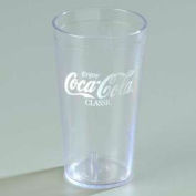 Carlisle 52163550E - Coca-Cola® Stackable™ Tumbler 16 Oz., Clear - Pkg Qty 72