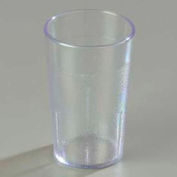 Carlisle 550107 - Stackable™ SAN Tumbler 5 Oz., Clear, Pebbled - Pkg Qty 72
