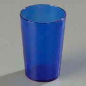 Carlisle 550647 - Stackable™ SAN Tumbler 9.5 Oz., Royal Blue, Pebbled - Pkg Qty 72