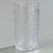 Carlisle 550807 - Pebble Optic™ Tumbler 8 Oz., Clear - Pkg Qty 24