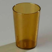 Carlisle 552613 - Stackable™ SAN Tumbler 8 Oz., Amber, Pebbled - Pkg Qty 72