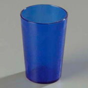 Carlisle 552647 - Stackable™ SAN Tumbler 8 Oz., Royal Blue, Pebbled - Pkg Qty 72