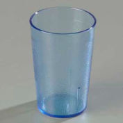 Carlisle 552654 - Stackable™ SAN Tumbler 8 Oz., Blue, Pebbled - Pkg Qty 72
