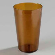 Carlisle 553213 - Stackable™ SAN Tumbler 32 Oz., Amber, 48 Ea., Pebbled - Pkg Qty 48