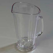 Carlisle 558307 - Crystalite® Pitcher 48 Oz., Clear - Pkg Qty 6