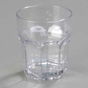 Carlisle 580807 - Louis™ Tumbler Rocks 8 Oz., Clear - Pkg Qty 24