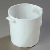 Carlisle 060002 - Bains Marie Container 6 Qt., White - Pkg Qty 12
