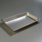 "Carlisle 607002P - Durapan Light Gauge Full-Size Perforated Pan 20-3/4"" x 12-3/4"" x 2-1/2"" Deep - Pkg Qty 6"